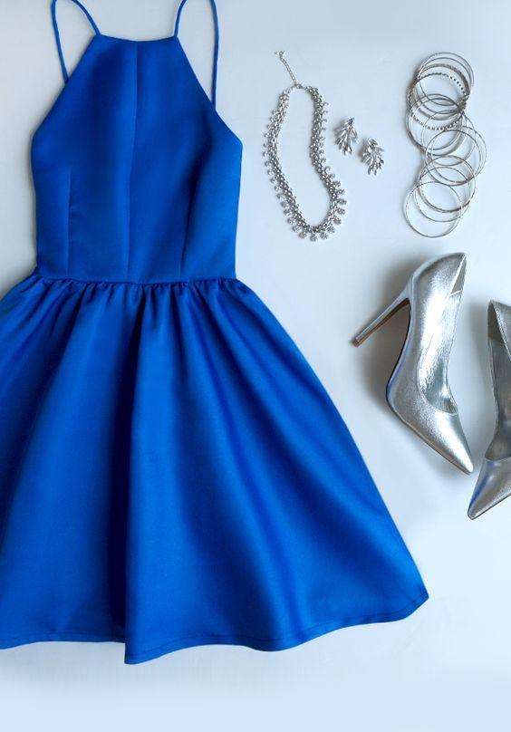 Homecoming Dresses,Royal Blue Homecoming Dress,Homecoming Dress ...