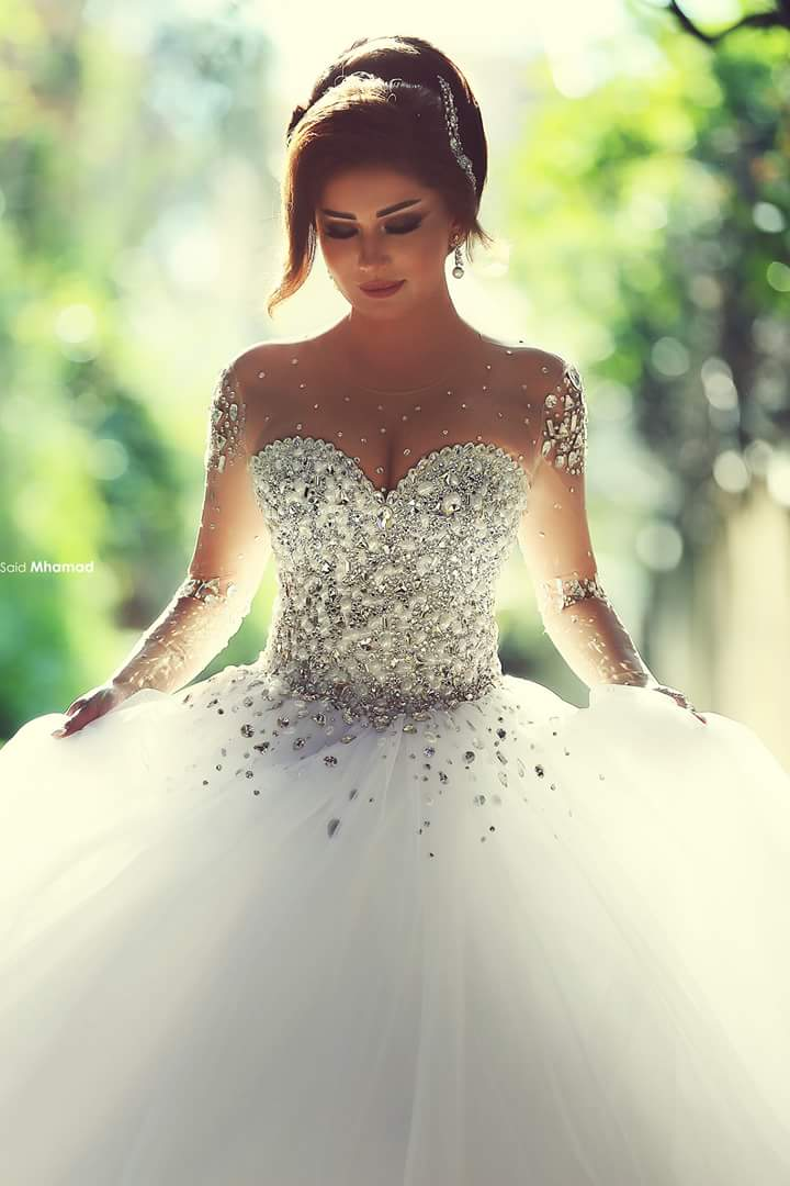 Princess Style Wedding Dress,Dresses For Brides,Bridal Gown ...