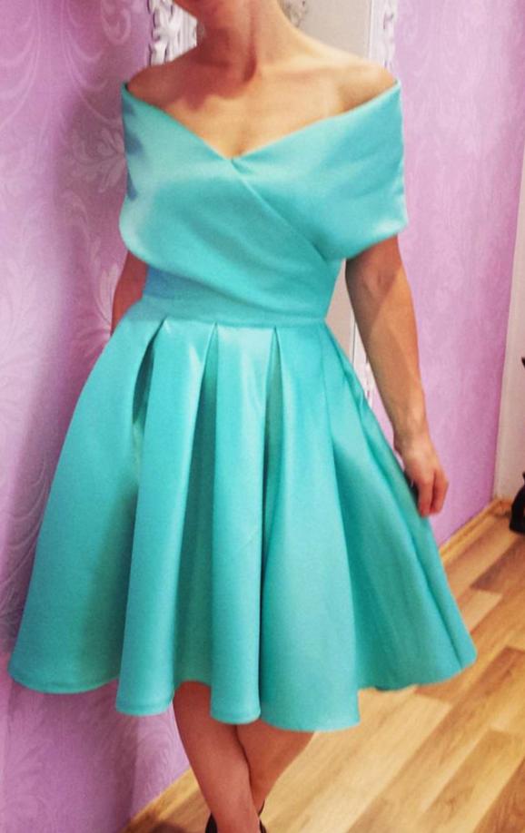 Elegant Prom Dress,Knee-Length Prom Dresses,Short Homecoming Dress ...