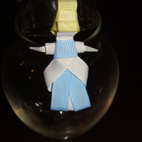 Cinderella Inspired Princess Ribbon Sculpture Hair Clip