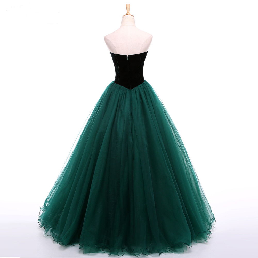 Strapless Prom Dresses with Tulle