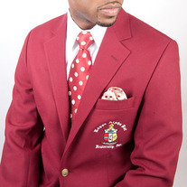 Kappa Alpha Psi Krimson Blazer Big & Tall