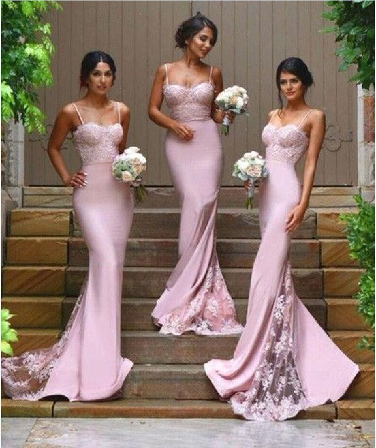 cheap and good strap wedding dresses