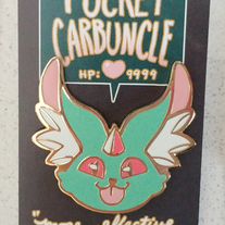 Pocket Carbuncle Enamel Pin medium photo
