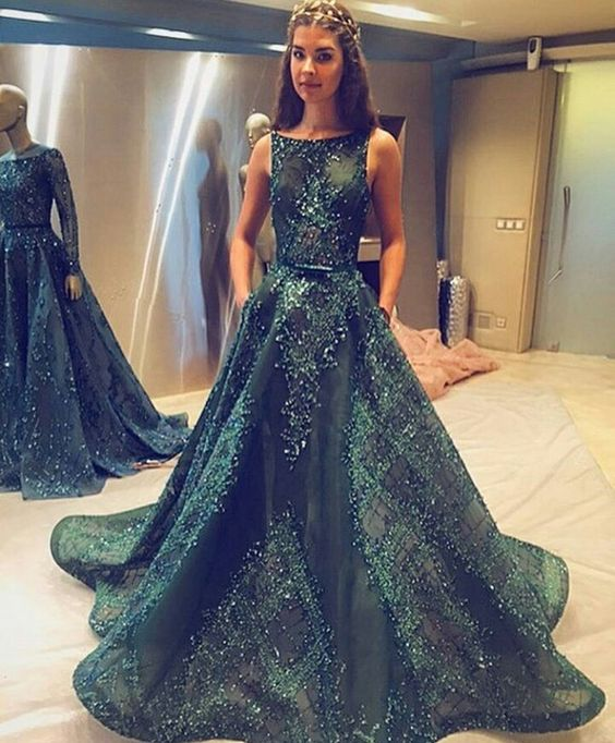 Ball Gown Prom Dresse,Princess Prom Dresses, Long Prom Dress, Tulle ...