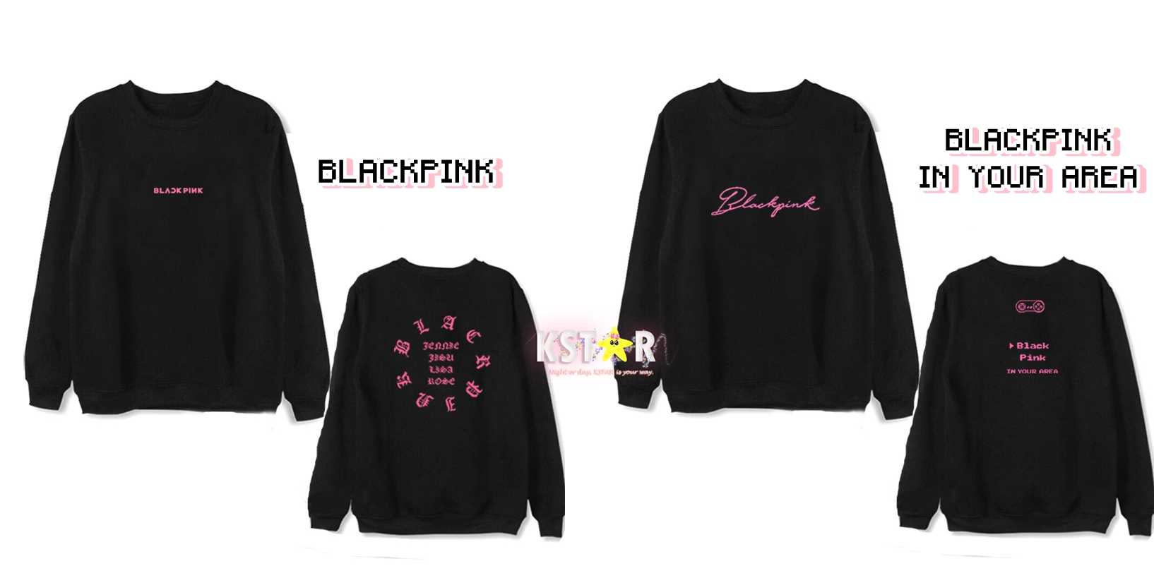 BLACKPINK In Your Area Shirt/Sweater · K-STAR · Online Store ...