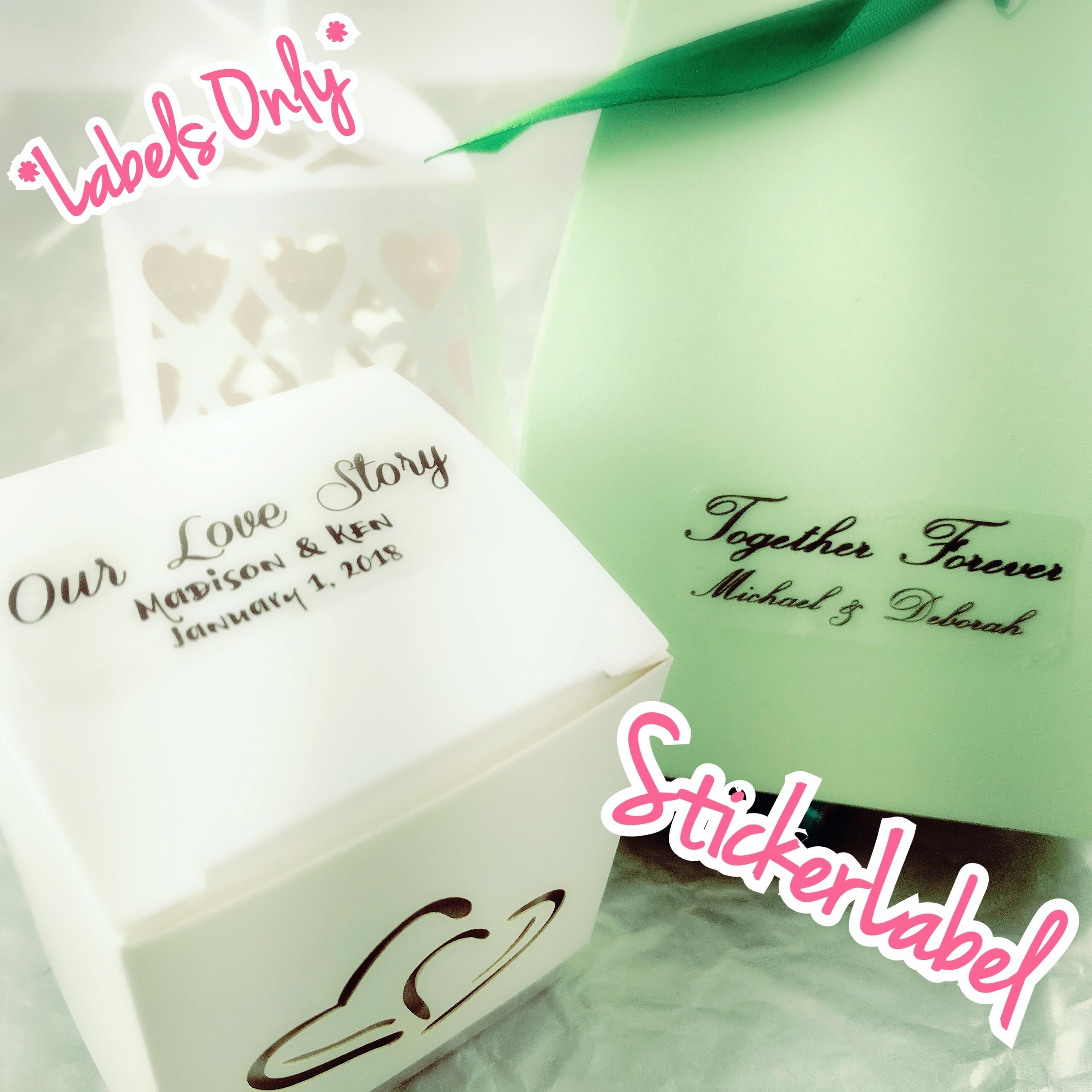 Personalized Wedding Labelswedding Stickerswedding Favor Labels