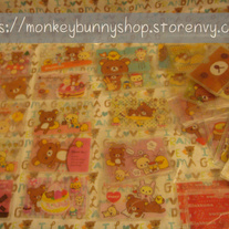 FREE SHIPPING!! Rilakkuma / Sentimental Circus / Kutusushita Nyanko Credit Card Holder