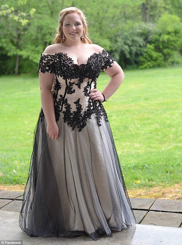 Plus Size Off Shoulder Long Prom Dress with Black Lace,HS087 · SIMI ...