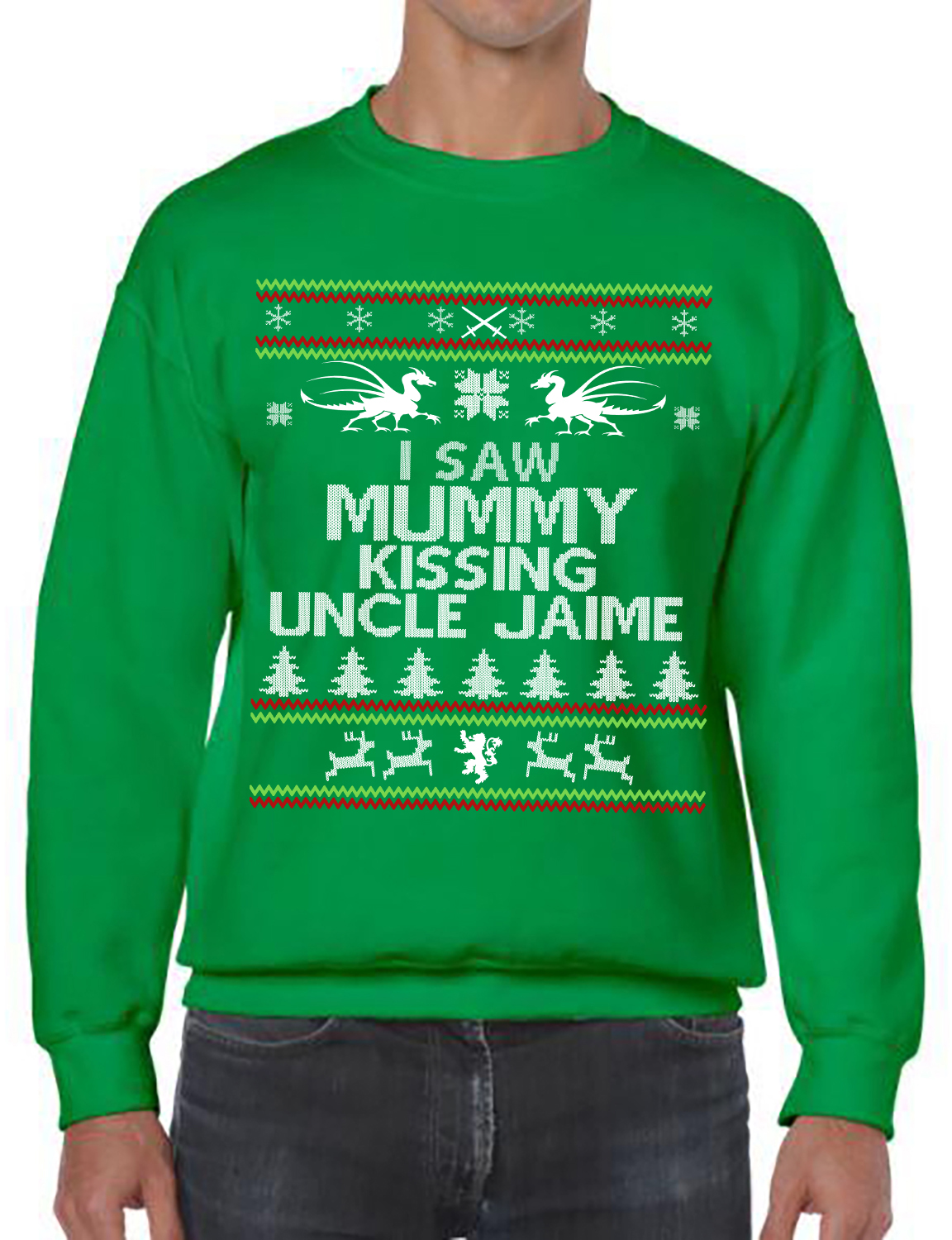 Game of Thrones, I Saw Mummy Kissing Uncle Jaime , Ugly Christmas ...