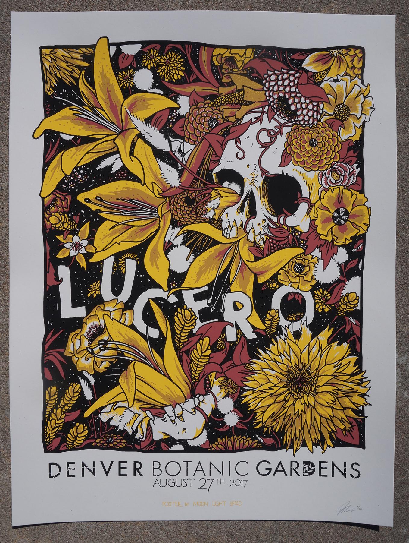 Lucero The Denver Botanic Gardens · Moon Light Speed · line
