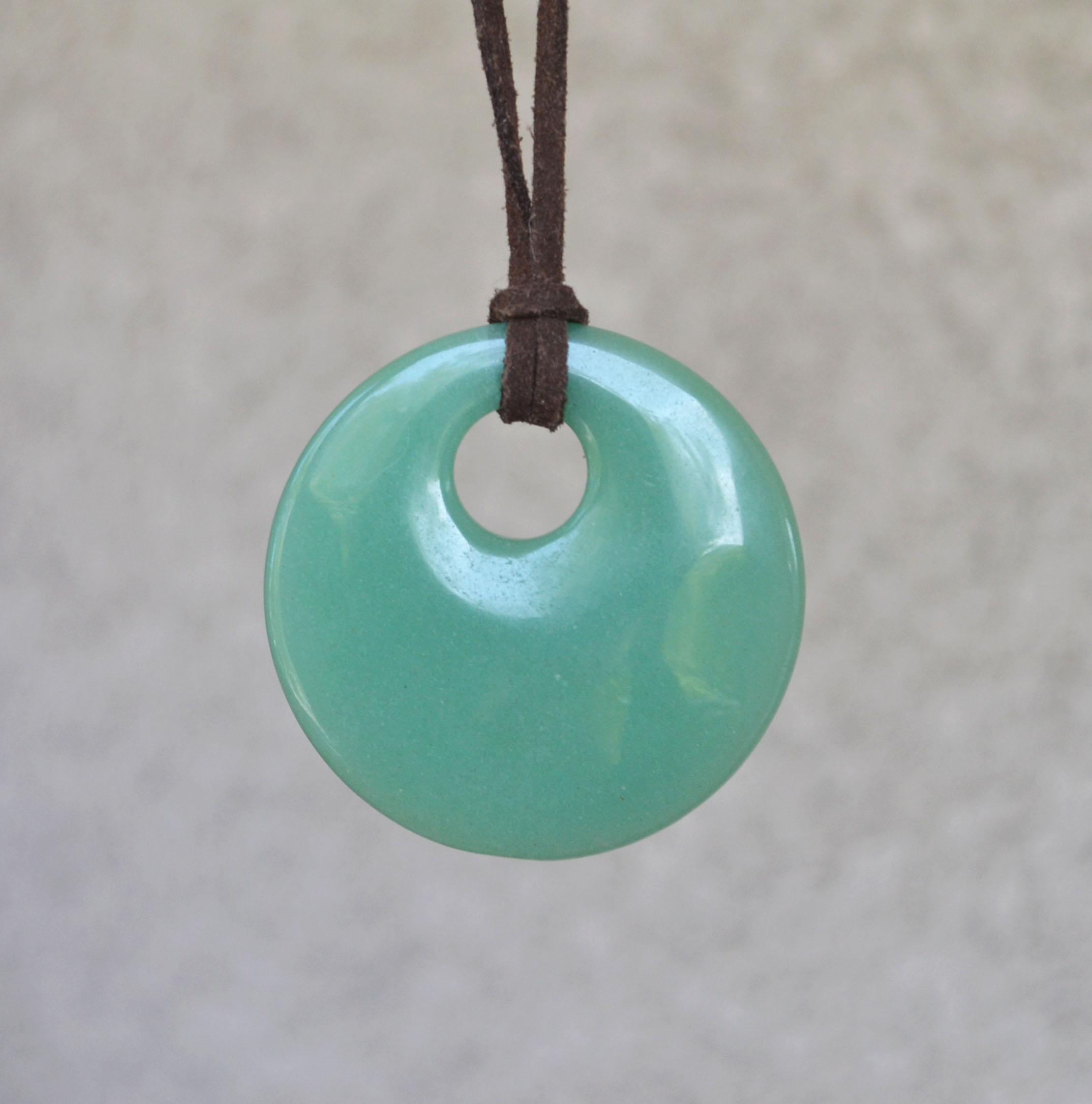 natural stone pendant product necklace free green moon sale