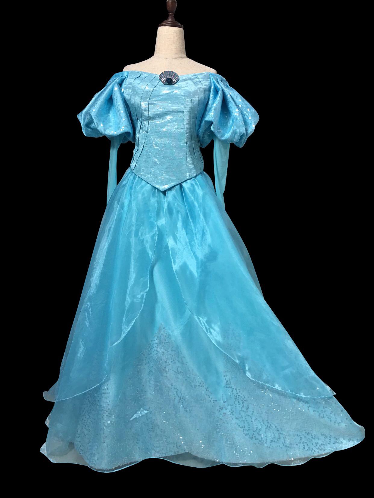 B178 Ariel park version gown in Elsa with Swarovski brooch The ...