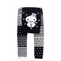 Snowman Unisex Leggings Boys & Girls Pants in Baby Infant Sizes 3 mos to Toddler Size 4T