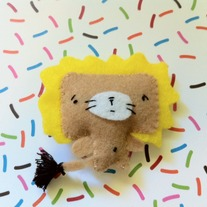 Mini Lion Plushie