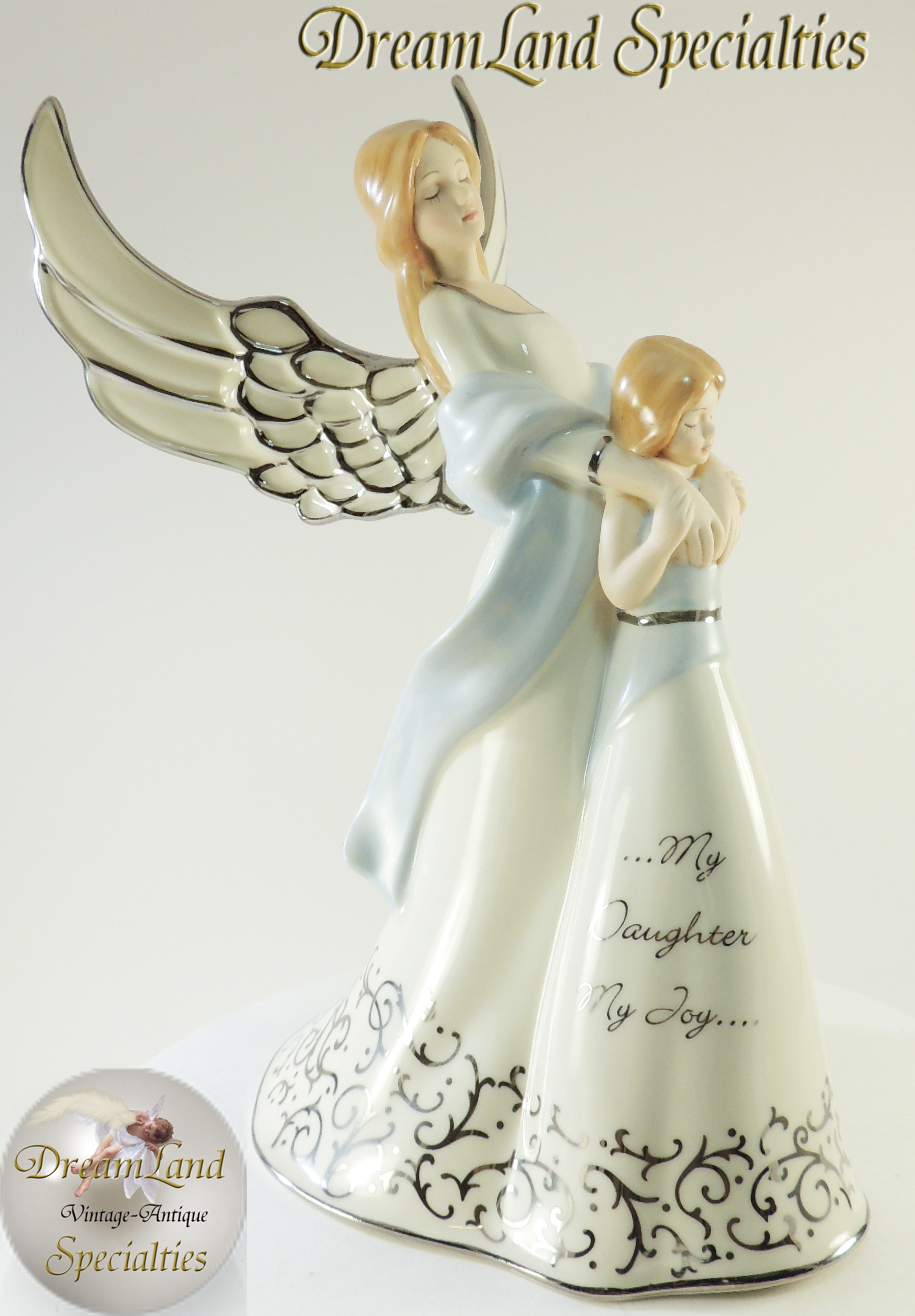 Bradford Heirloom Porcelain Quot Forever My Daughter Quot Music