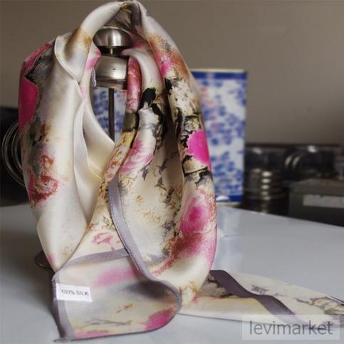 square scarf silk scarf fashion scarves scarves silk Silk Scarves Painting Uk