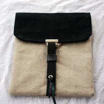 Ipad Case Sleeve - Natural Linen