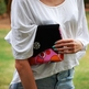 Oversized Clutch - Pink Hippie - Thumbnail 2