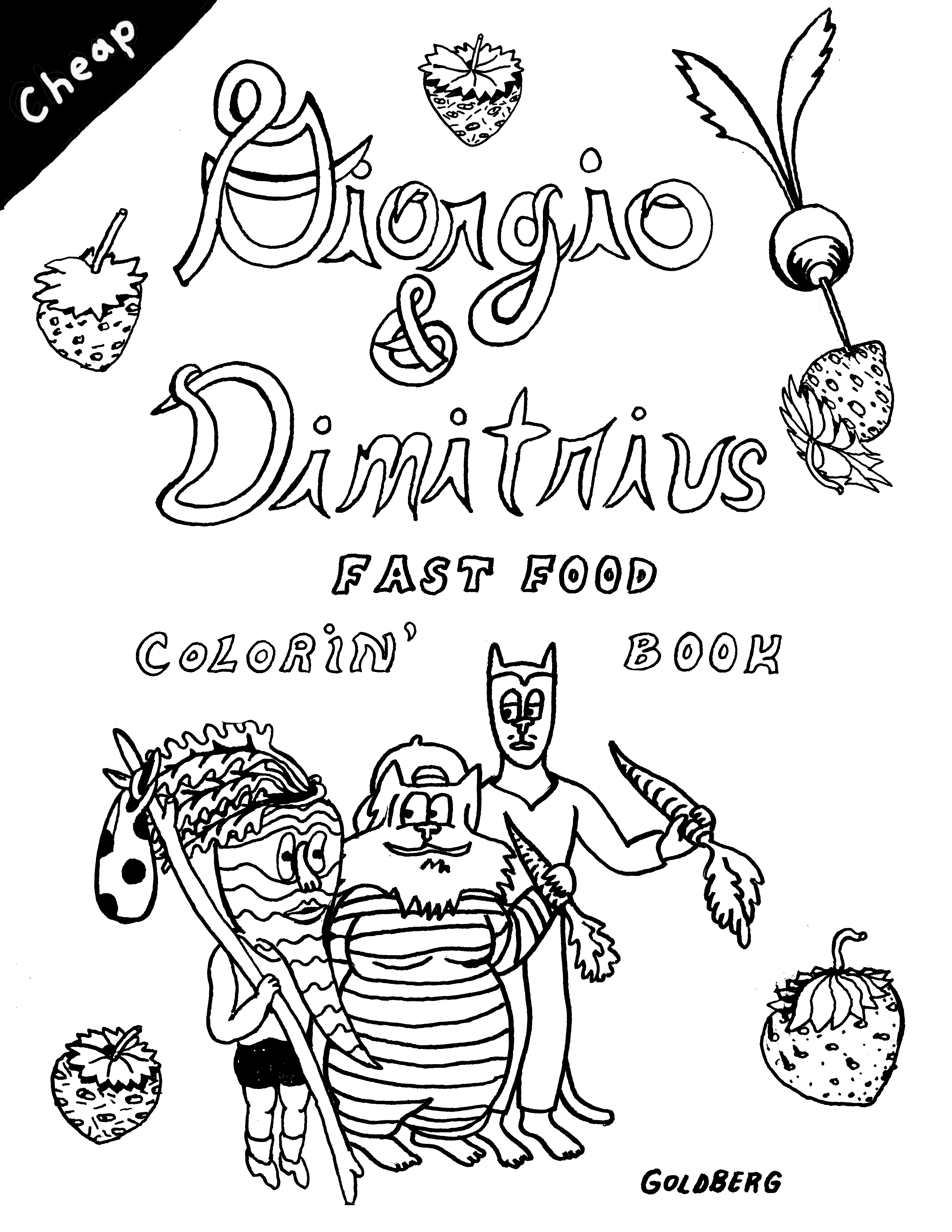 Giorgio & Dimitrius Fast Food Coloring Book · A Malfunction of Time ...