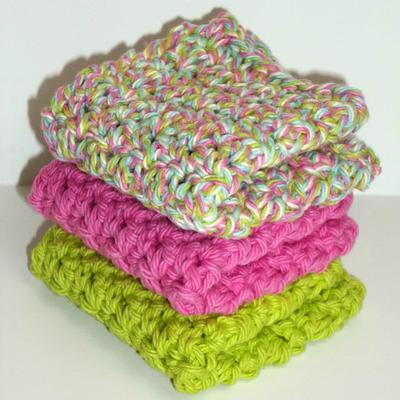 Lava lamp dishcloth set