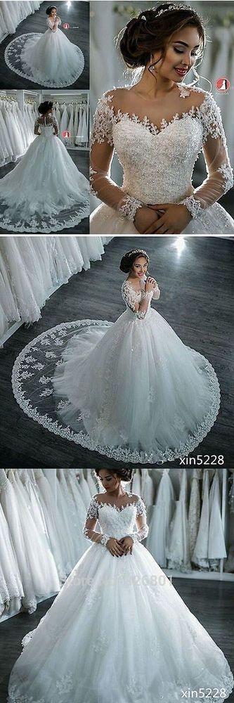 Vintage long sleeve wedding dress see through wedding for Wedding dresses without sleeves