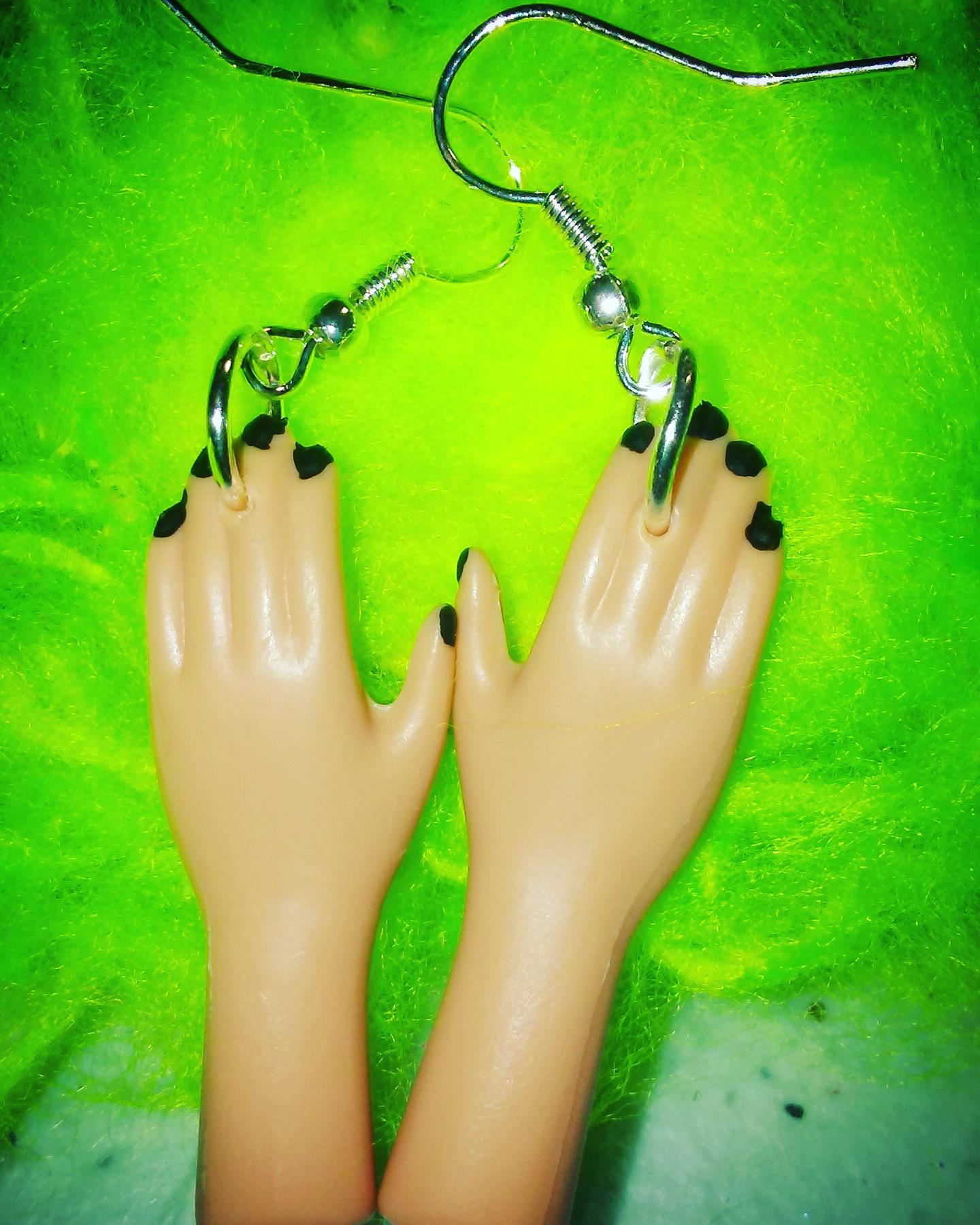 Barbie Nail Art Games Free Download: Barbie Hand Earrings On Storenvy