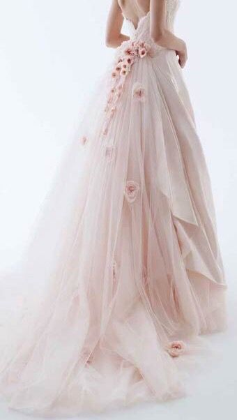 New Arrival Wedding Dress,Romantic Tulle Wedding Dresses,Long Lace ...