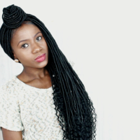 Faux Locs Wig (Handmade wig) 12 inches to 18 inches $350 - Thumbnail 3