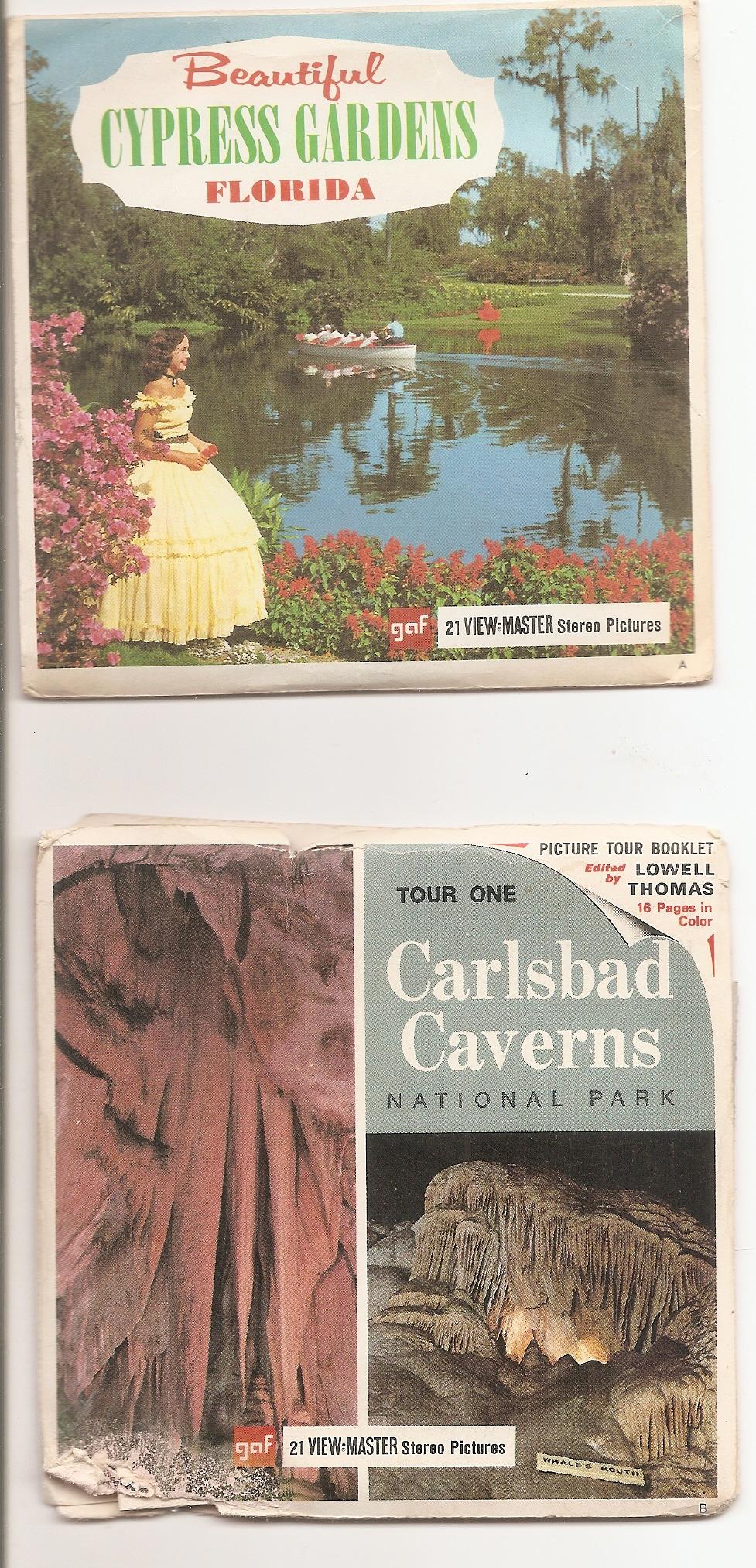 2 Sets A376 Carlsbad Caverns Cypress Gardens On Storenvy