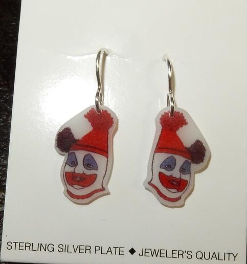 Serial Earrings: Serial Killer Earrings Jewelry True Crime Horror Retro