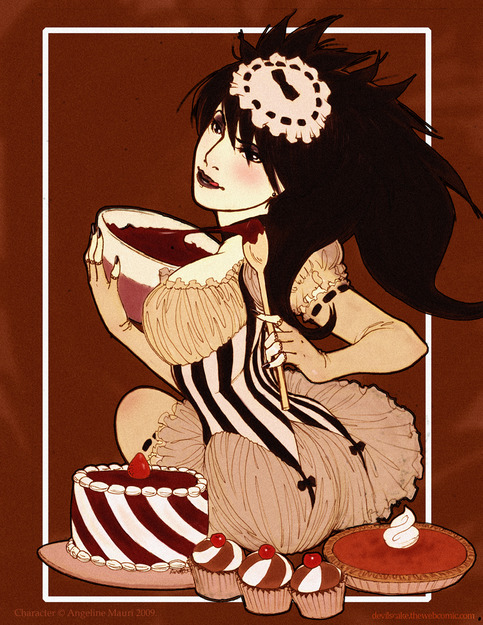 Baking Koshi 8.5x11 art print