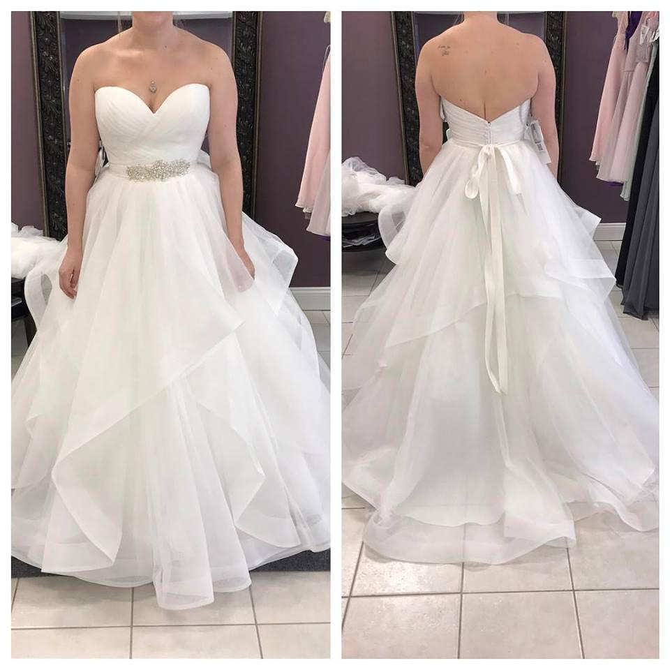 Plus Sizes Strapless Long Ivory A-line Backless Modest Wedding  Dresses,Affordable Simple Wedding Dress,Wedding Gowns,Bridal Dresses from  promhome