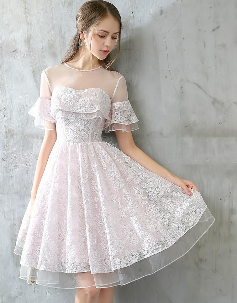 Cute Short Dresses for Graduation