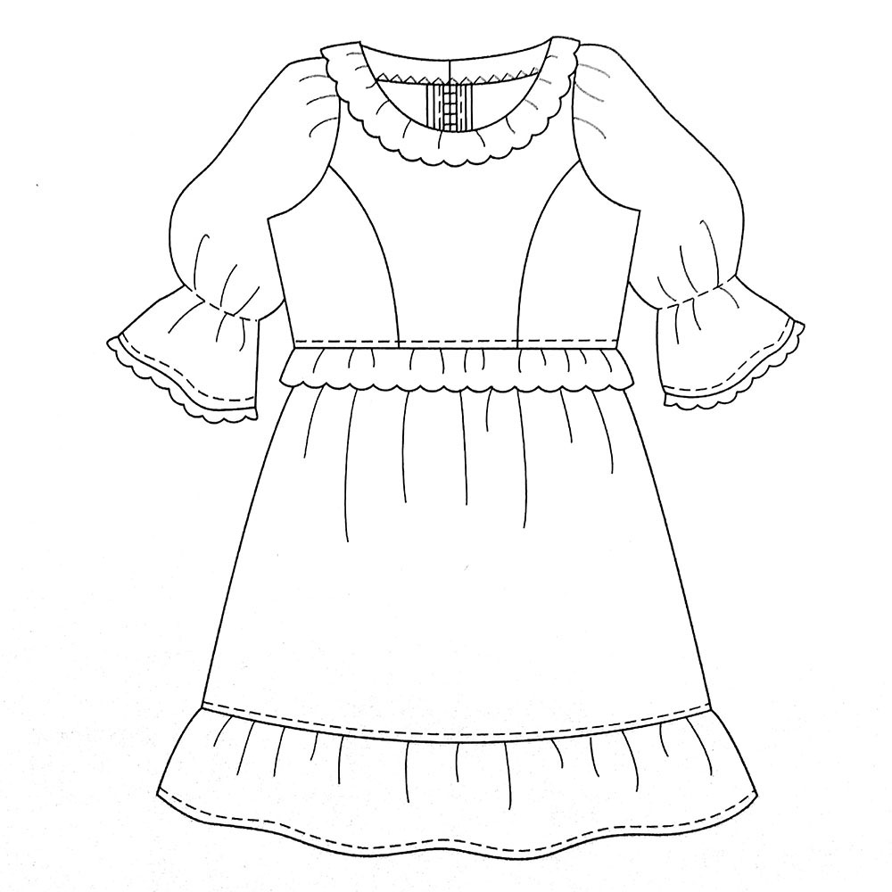 0808 One Piece · Lolita Sewing Patterns · Online Store Powered by ...