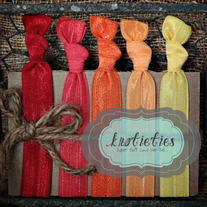 sunset : original {knotieties} 10 pack