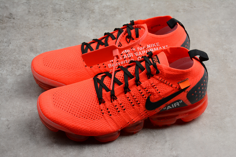 size 40 7a99a 94c0f Nike Air VaporMax Flyknit 2 Men s Running Shoes Red Black 942842-006