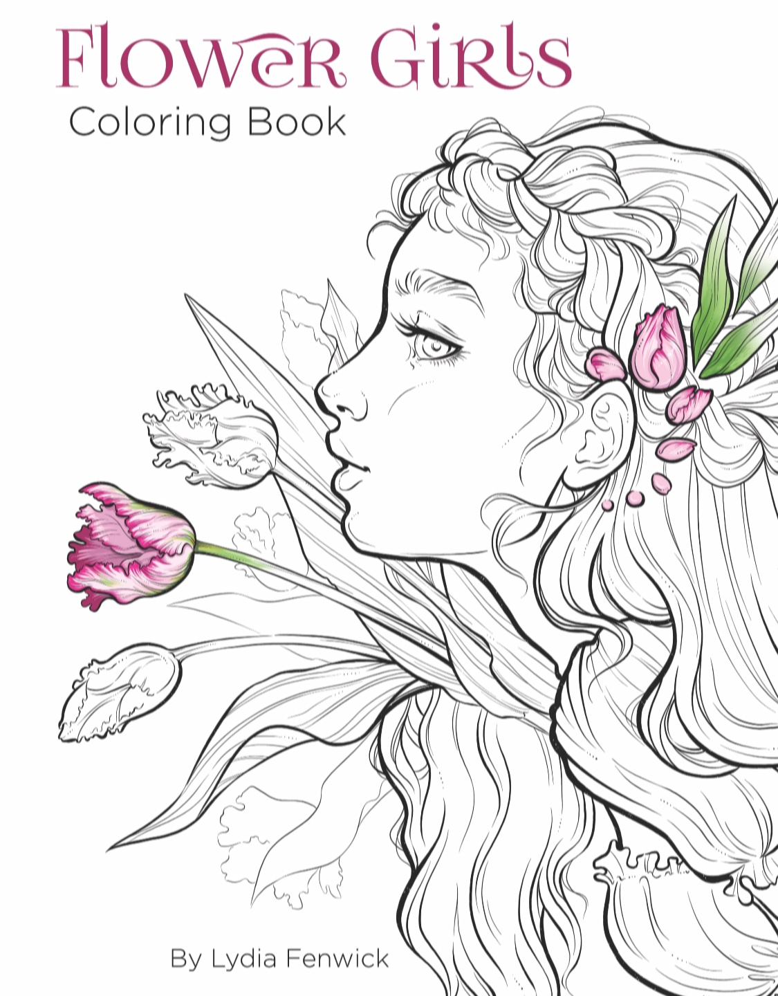 "Flower Girls"" DIGITAL Coloring Book Preorder · Lyfe Illustration ..."