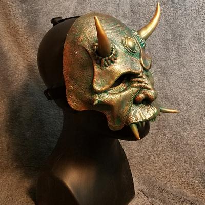 half oni mask