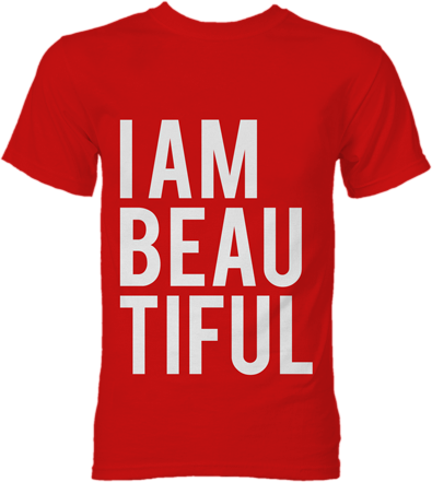 iambeautiful i am beautiful tee online store powered. Black Bedroom Furniture Sets. Home Design Ideas