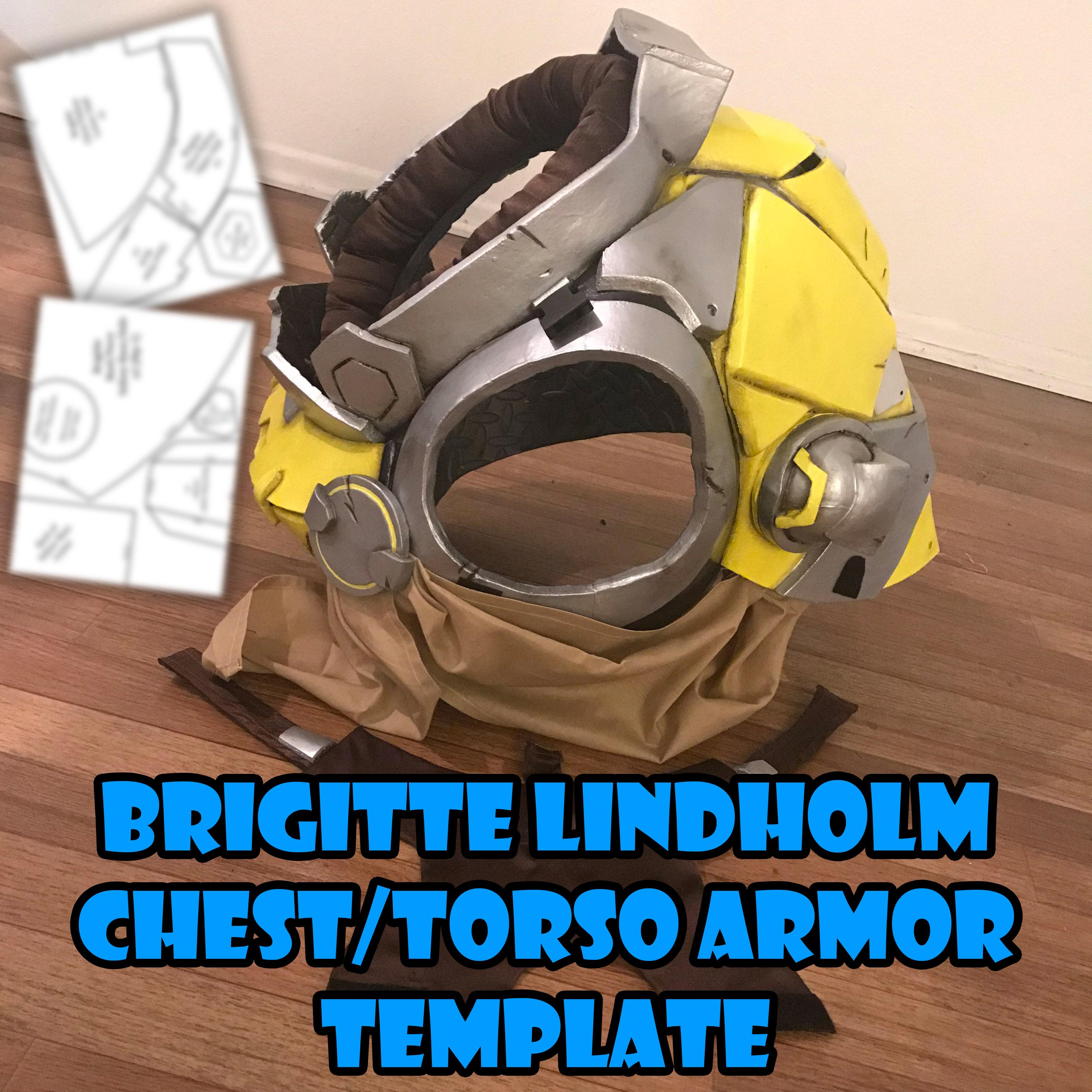 Brigitte Lindholm Chest Piece & Torso Armor Template · Fae\'s ...