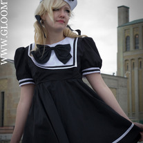 Gloomth Nautical Sailor Dress