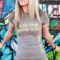 Be The Change Crew Tee