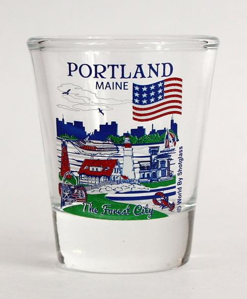 Kansas Great American Cities Collection Shot Glas Topeka Geschirr, Besteck & Gläser