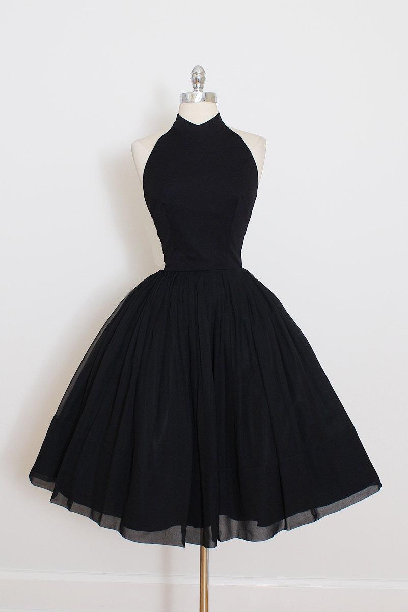 elegant formal little black dress