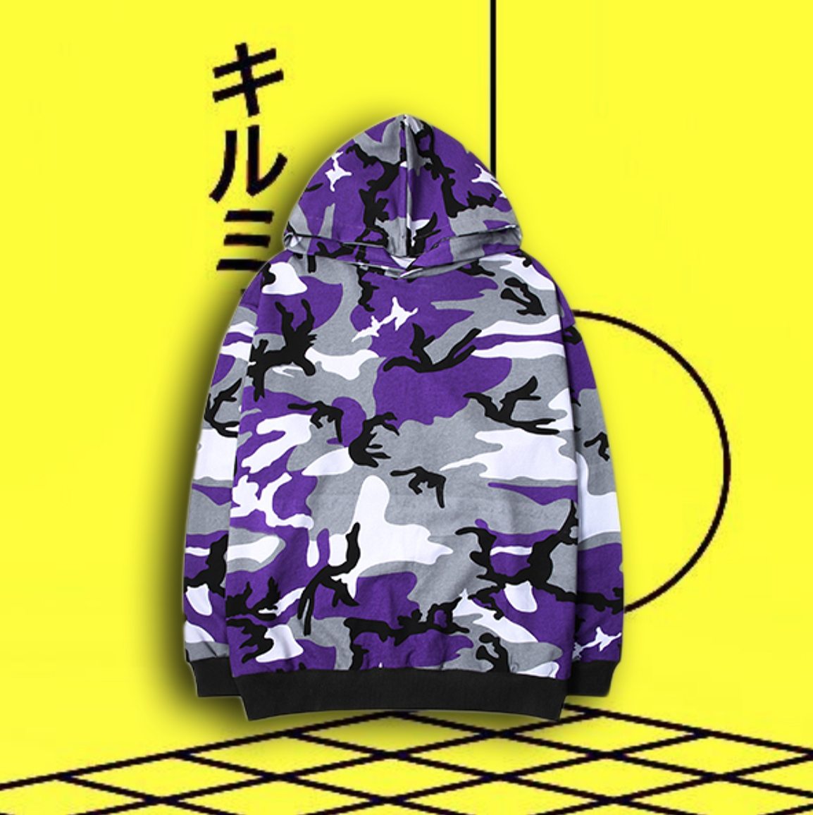 623d476e1be7a8 CAMO HOODIE IN PURPLE · STORE CAT CAT · Online Store Powered by Storenvy