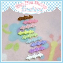 Tiny Treat Hair Clip - Buggy Trio
