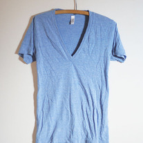 V-Neck Track T by American Apparel