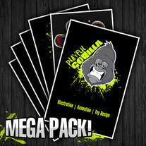 """Playful Gorilla MEGA PACK!"""