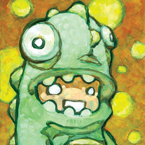 "Little Monster - 5"" x 7"" print"